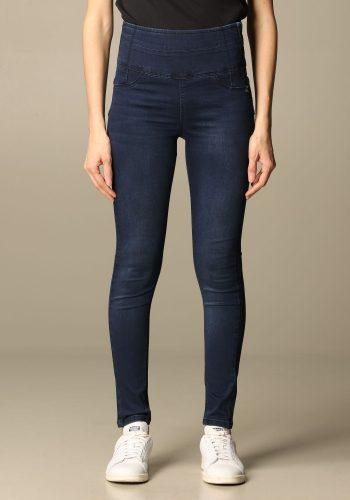 Patrizia Pepe Jeans vita alta blu scuro