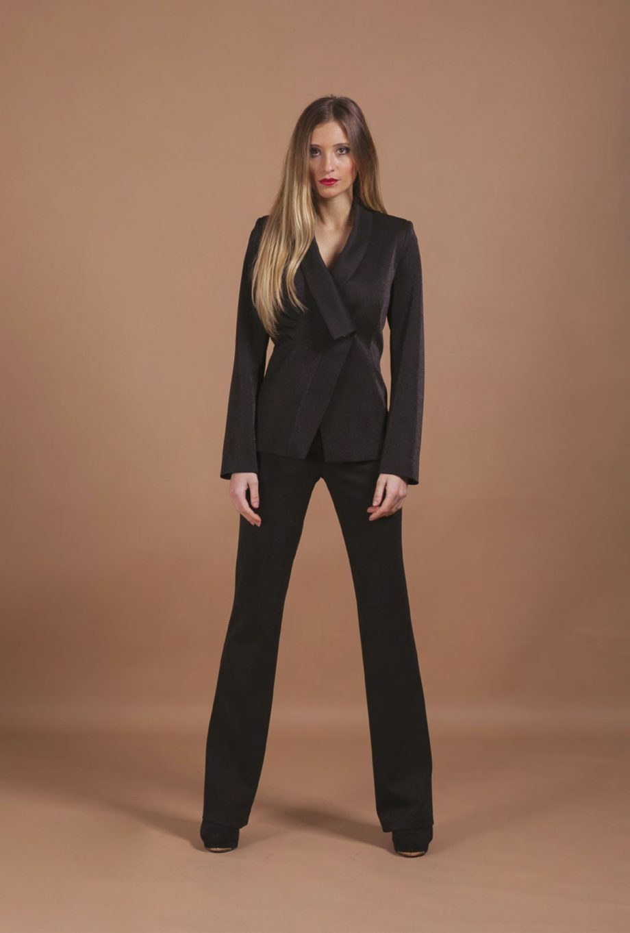 Mirella Matteini - pantalone elegante in lurex